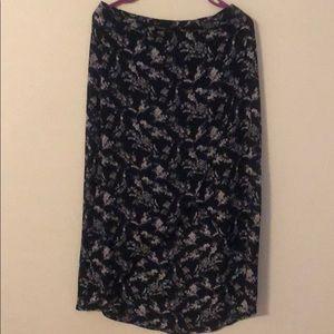 Forever 21 Flower Skirt
